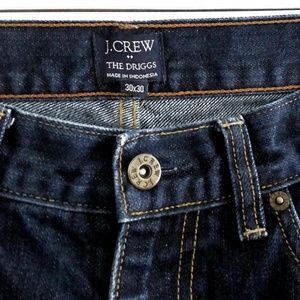 J Crew Mens The Driggs Slim Fit Jeans 30x30